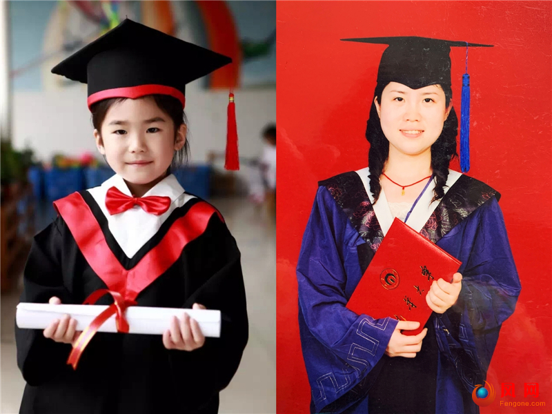 新中国成立70周年 双镜头 毕业季 毕业照