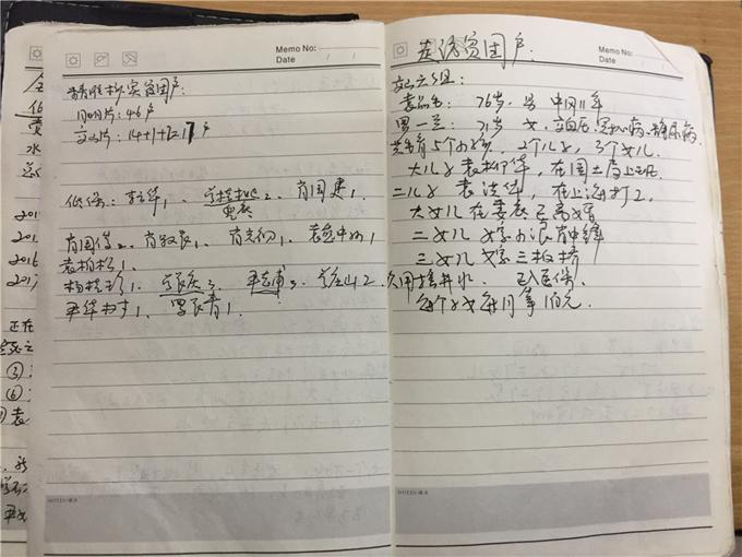 曾红梅的扶贫工作日记写得很详细.jpg