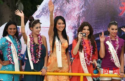 美丽之冠 第60届世界小姐总决赛佳丽亮相