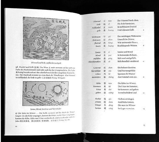千字文 德语 汉语 中国传统文学 西游记 翻译