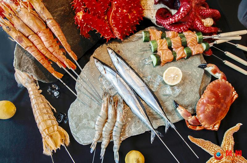 长沙运达喜来登酒店推出海鲜BBQ盛宴---炭烤之