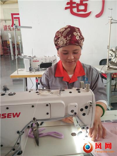 全国主流媒体宁夏行 六十年 家纺 妇女