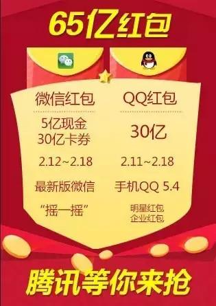 红包大战 微信红包 QQ大包 抢红包攻略