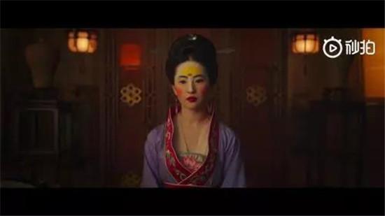 真人版《花木兰》妆容遭吐槽 南北朝美女