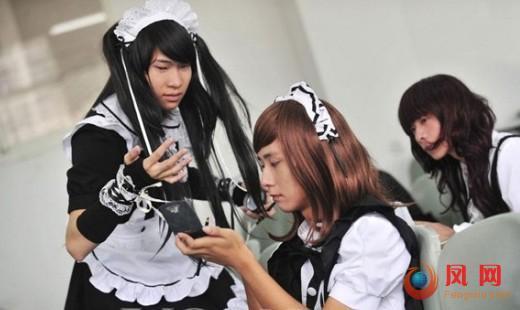 爱丽丝伪娘团 图片 资料 武汉 豪哥