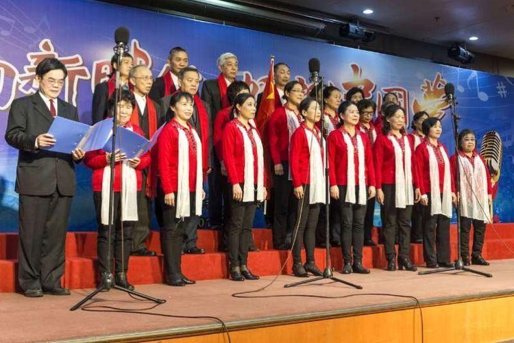 """我的中国梦合唱比赛_""""唱响新时代 畅想中国梦""""合唱比赛圆满成功 迟来的节日祝福唱 ..."""