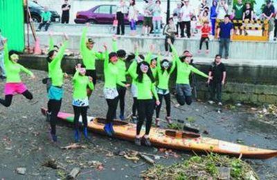 台湾10名受虐弱势少女将驾独木舟环岛