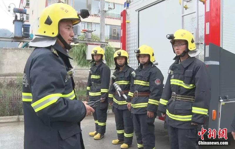 消防员 榜样