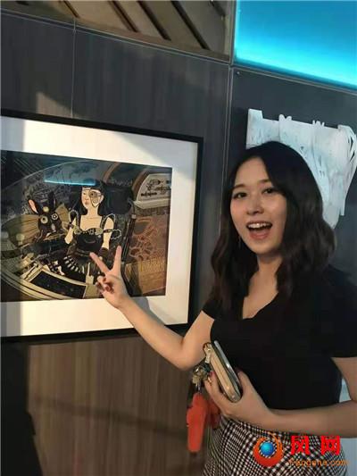 日本插画大奖 长沙妹子