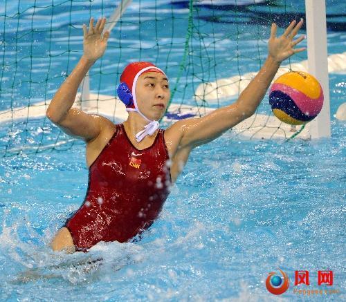 上海世锦赛 女子水球队 亚军