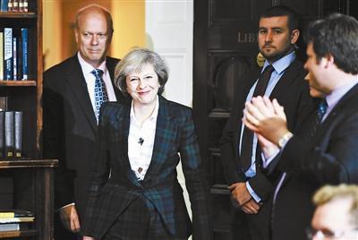 英国女首相 特雷莎·梅 英国新首相女