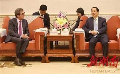 创新湖南融入世界 驻华使节与湖南不得不说的故事